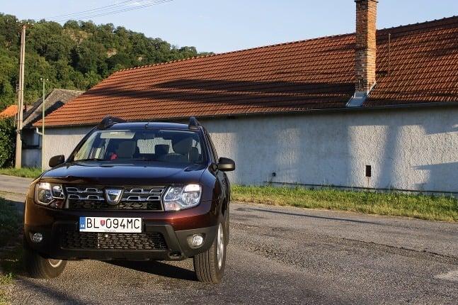 TEST Dacia Duster 1,6
