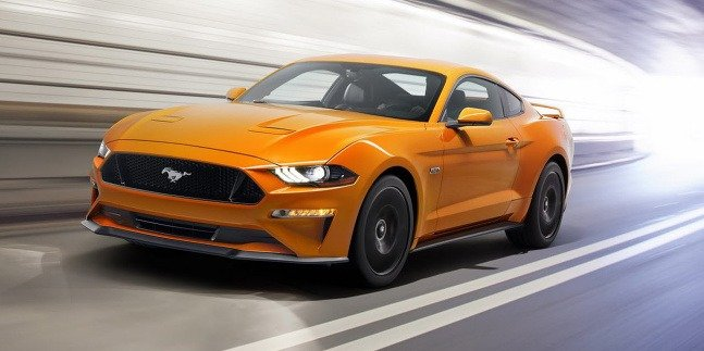 Ford Mustang facelift 2017