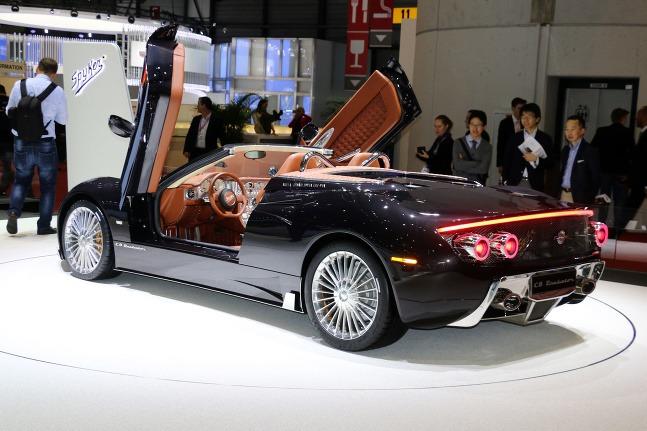 Motor Koenigsegg V8 5.0