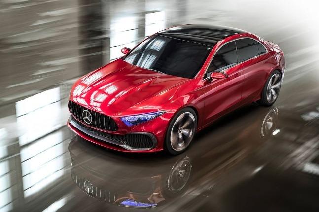 Mercedes A Sedan koncept