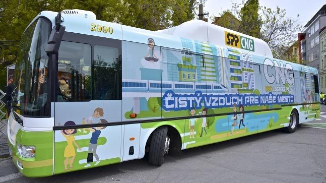 CNG autobus opäť v
