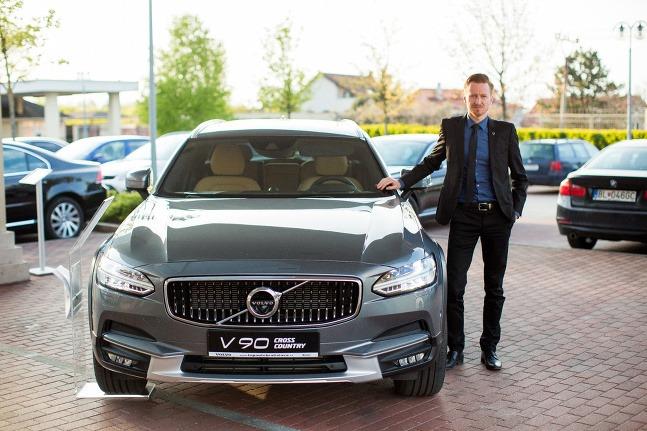 Volvo podporí beh cez