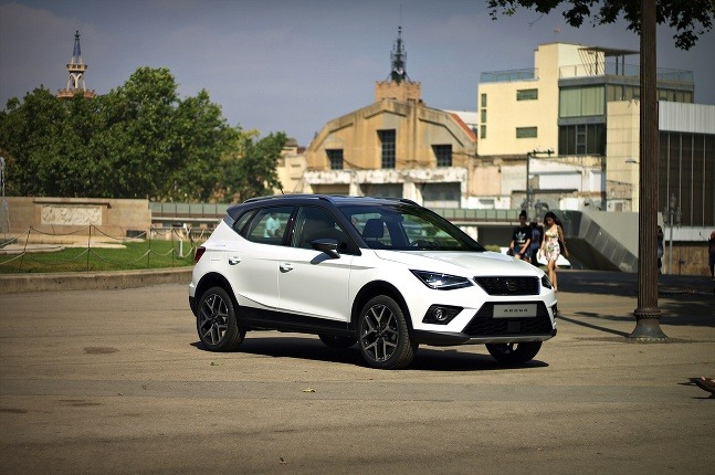 SEAT ARONA Barcelona photo