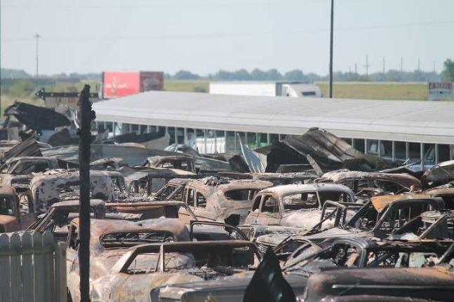 Požiar veteránov v Illinois