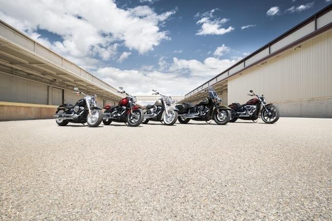 Harley-Davidson Softail lineup