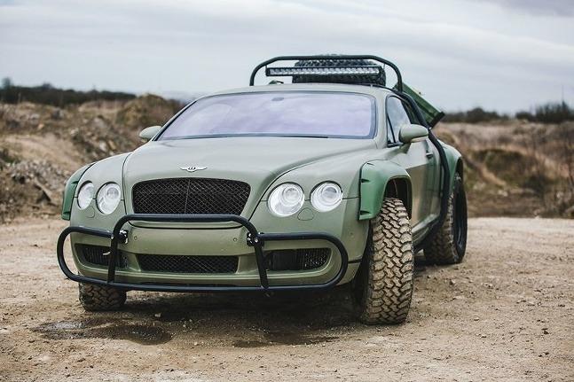 Bentley Continental GT Rally