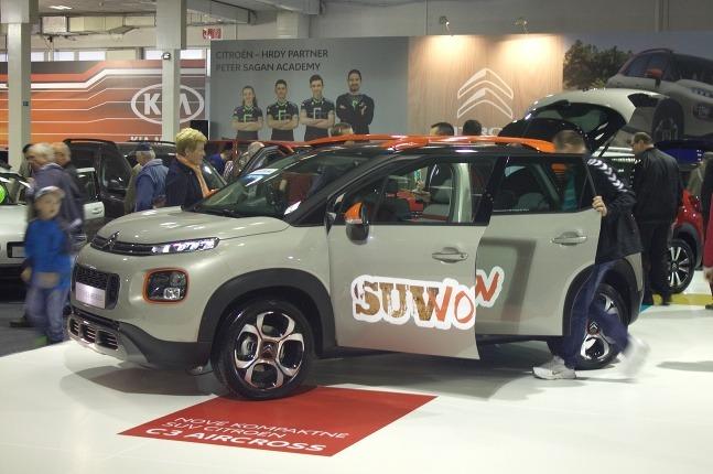 Autosalón Nitra 2017