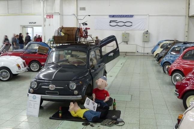 Autosalón Nitra veterány