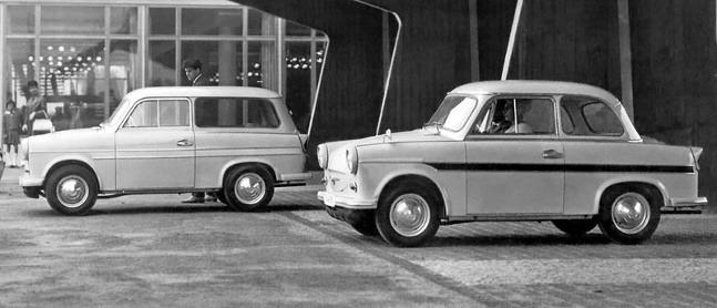 Trabant P50 (1958)