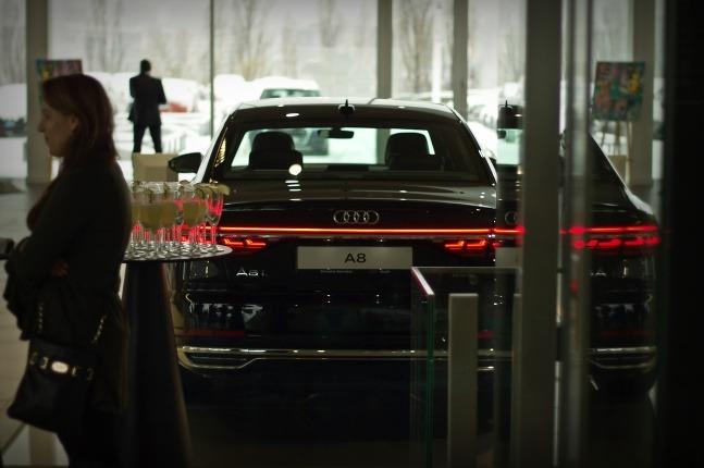Audi A8 v Bratislave