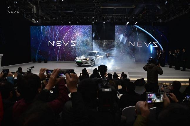 NEVS 9-3 EV launch