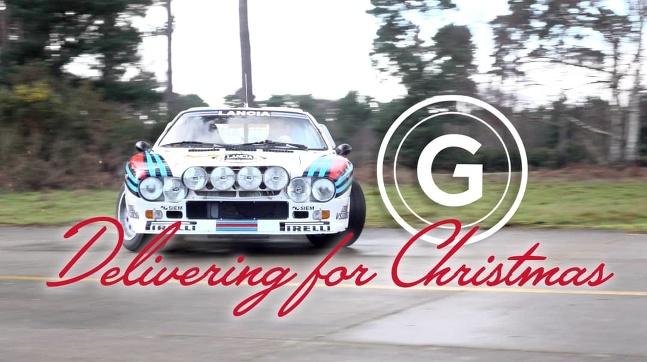 Lancia vozí na Vianoce