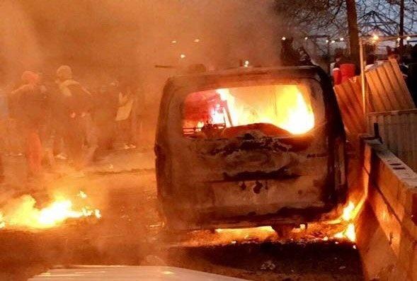 Horiace autá vo Francúzsku