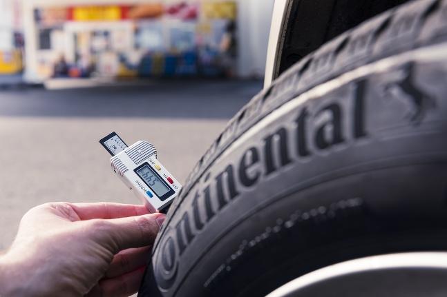 Continental meranie, hĺbka dezénu