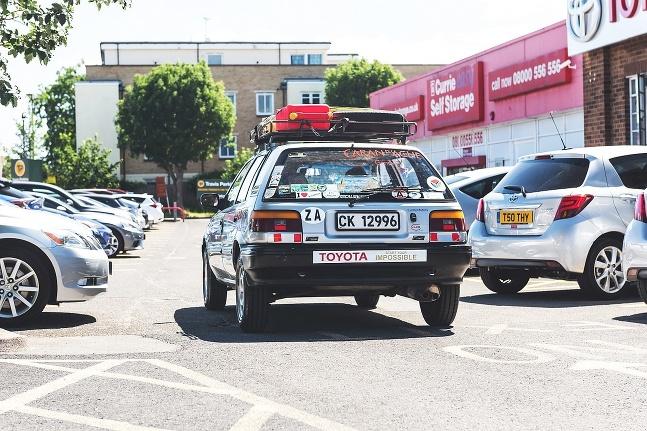 Toyota Corolla z Kapského