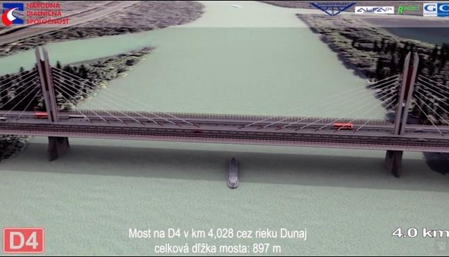 D4 Most nad Dunajom