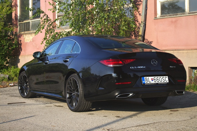 Mercedes CLS 400d 4MATIC