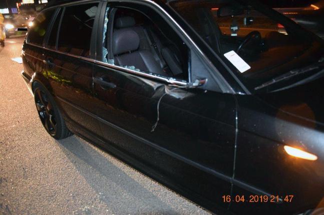 Nehoda na privádzači v