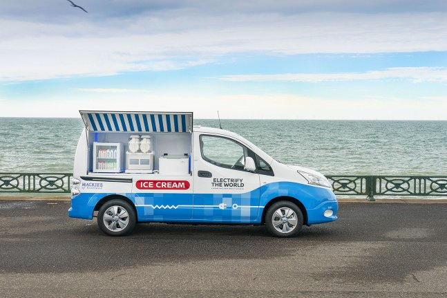Nissan Ice Cream Van