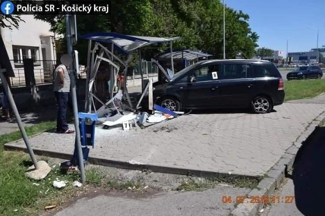 Nehoda Michalovce zastávka
