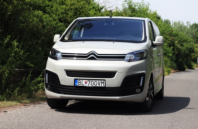 Citroen Spacetourer Sagan Academy