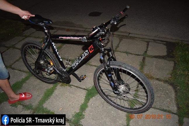 Nehoda Skalica cyklista SMS