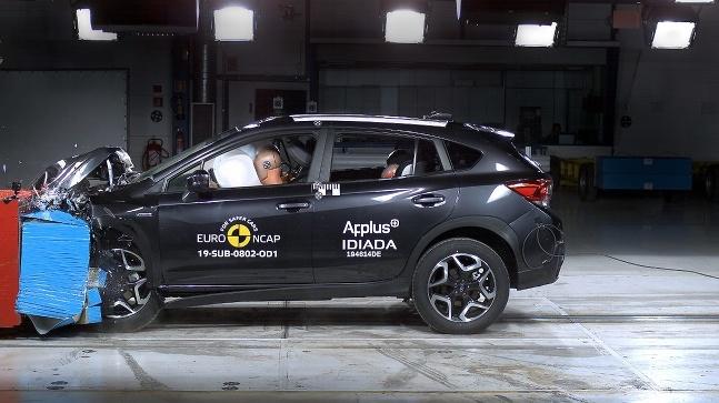 Subaru XV Hybrid EuroNCAP