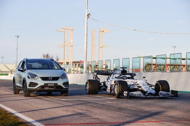 Honda Jazz a F1