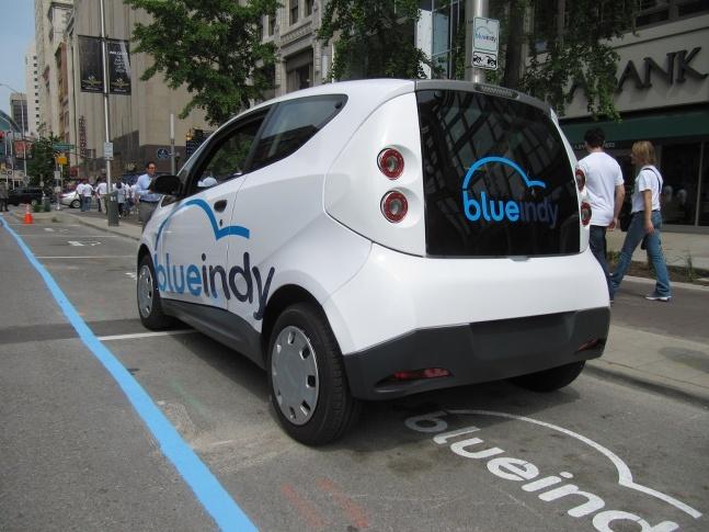BlueIndy BlueCar, Bollore