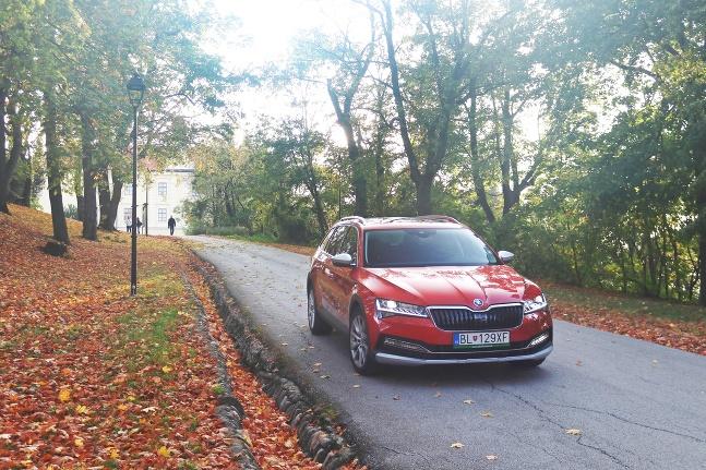 Škoda Superb Scout TSI