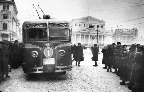 Trolejbusy v Moskve