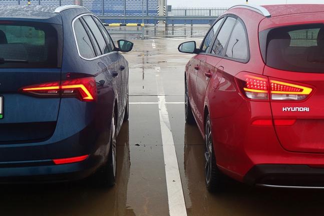 Škoda Octavia vs. Hyundai