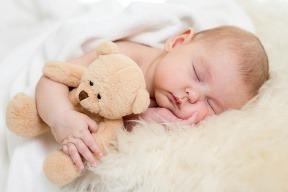 Naučte spať dieťa za