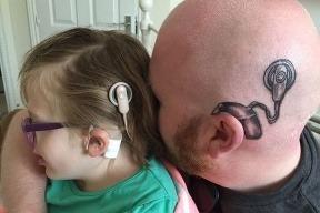 Gesto pre dcéru: Otec