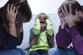 Kričíte často na deti?