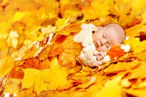 Jesenné prechádzky s bábätkom: