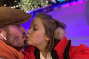 David Beckham s dcérou