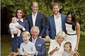 Princ George so súrodencami