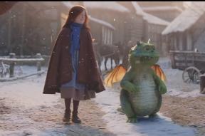 Táto vianočná reklama roztápa