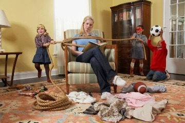 Uprataná domácnosť s deťmi?