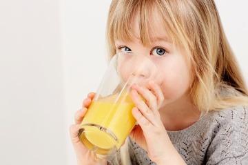 Sladené nápoje u detí