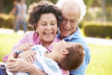 Starí rodičia majú v