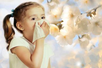 Peľové alergie u detí: