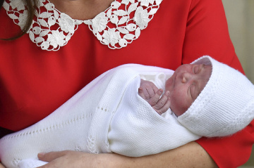 Princ Louis má svoj