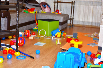 Upratovanie detskej izby: Takto