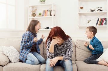 Zmeňte správanie dieťaťa za