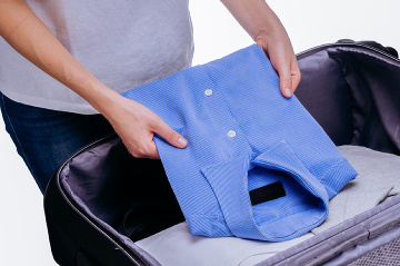 Chyba manžela s kufrom