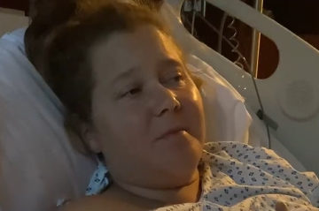 Amy prišla pre endometriózu