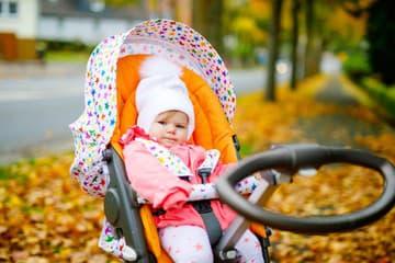 Jesenná prechádzka s bábätkom: