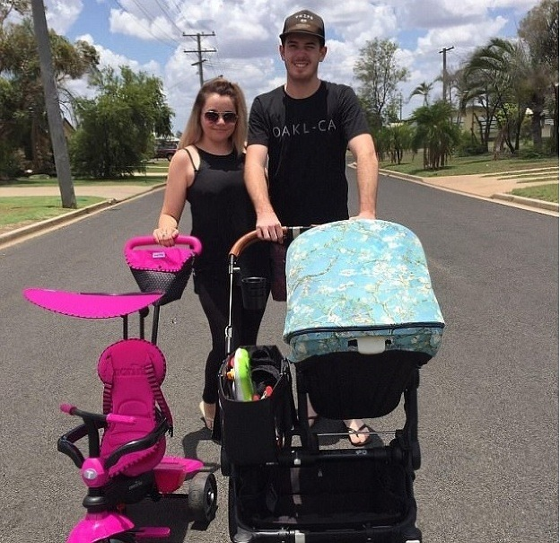 Mama v Austrálii porodila